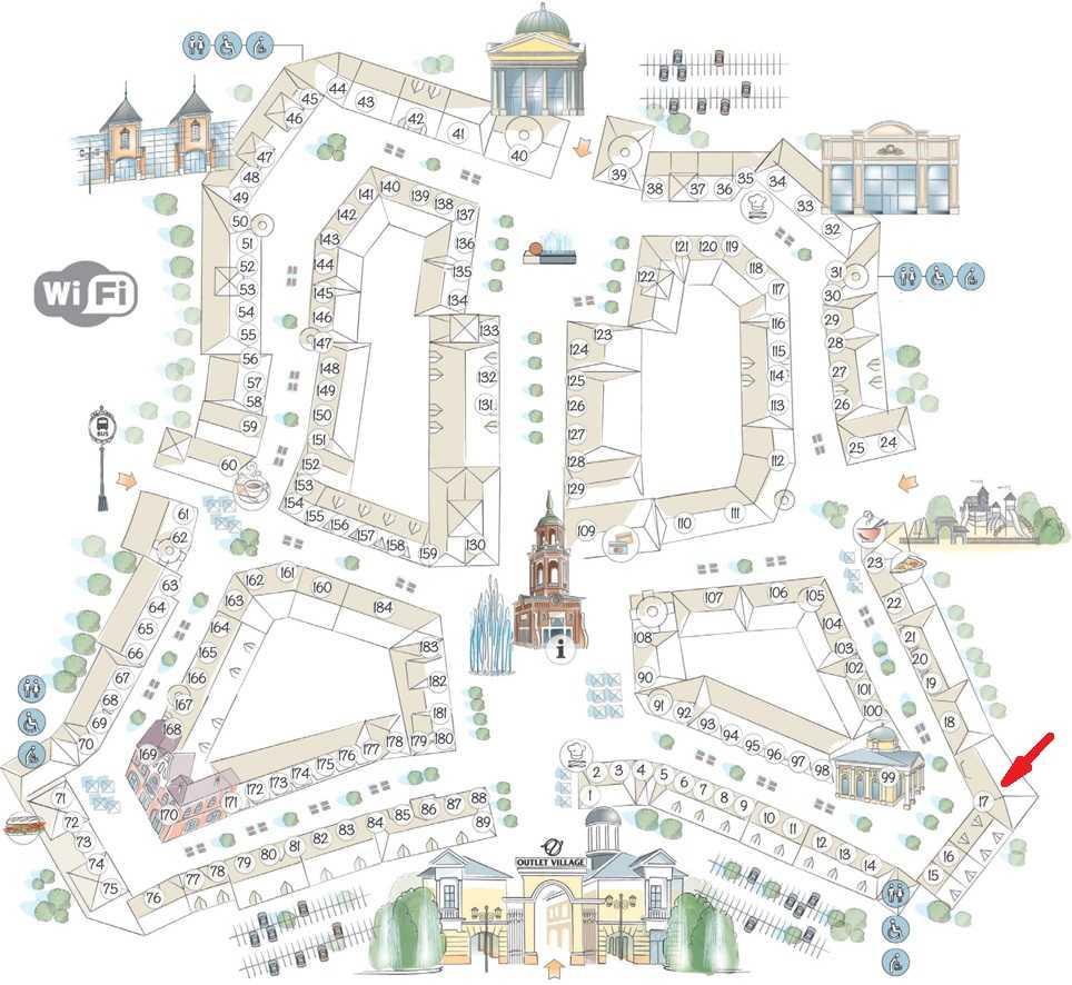 moskva outlet village belaya dacha nike shema